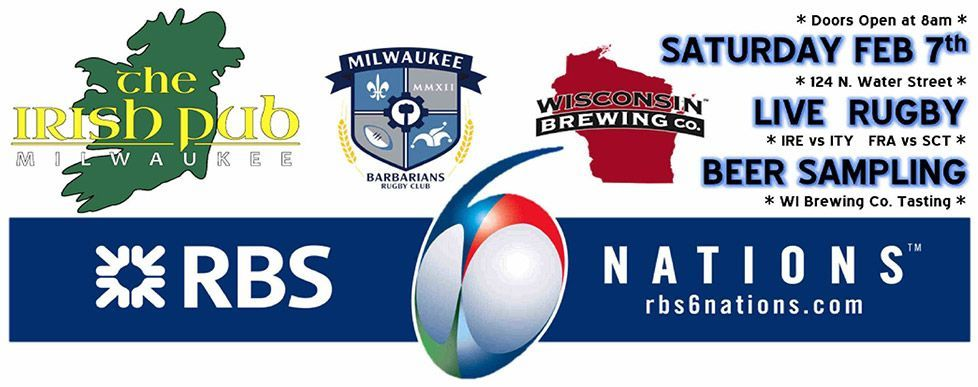 Milwaukee rugby fundraiser at the Irish Pub