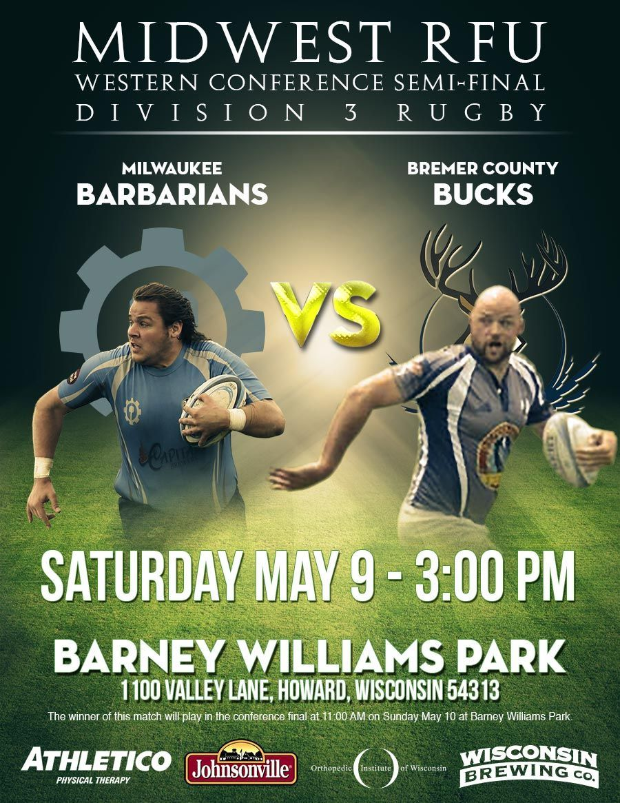 match preview Barbarians vs Bucks May 9