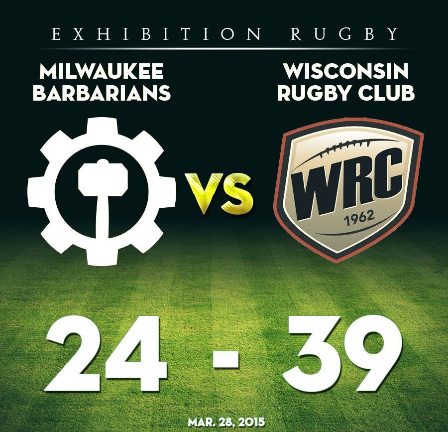 Milwaukee rugby falls to Wisconsin RC 24-39