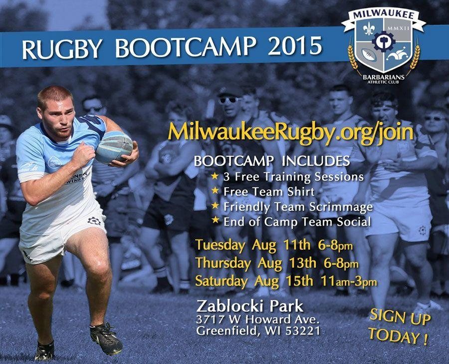 milwaukee rugby bootcamp 2015